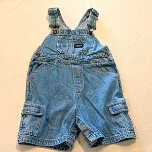 OSHKOSH denim overalls (shorts)